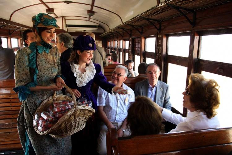Поезд Сервантеса, Мадрид, семейный отдых