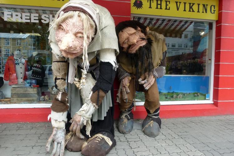 Сеть сувенирных магазинов The Viking в Рейкьявике