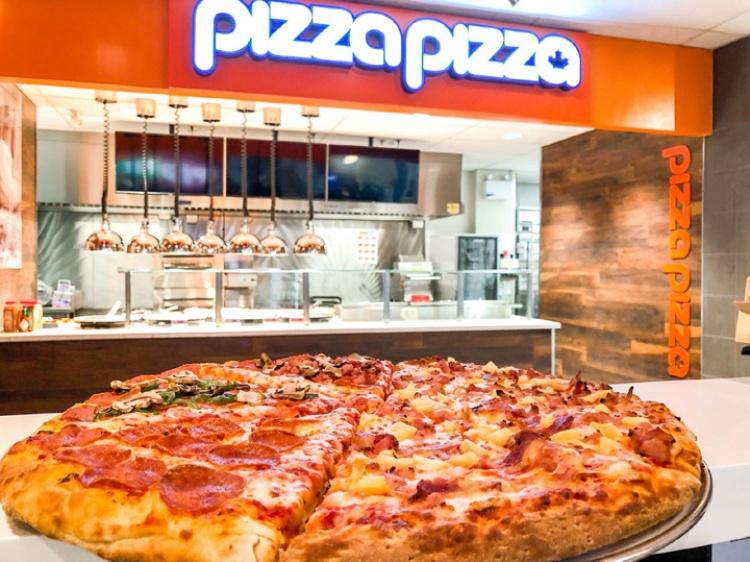 Пицца в Канаде