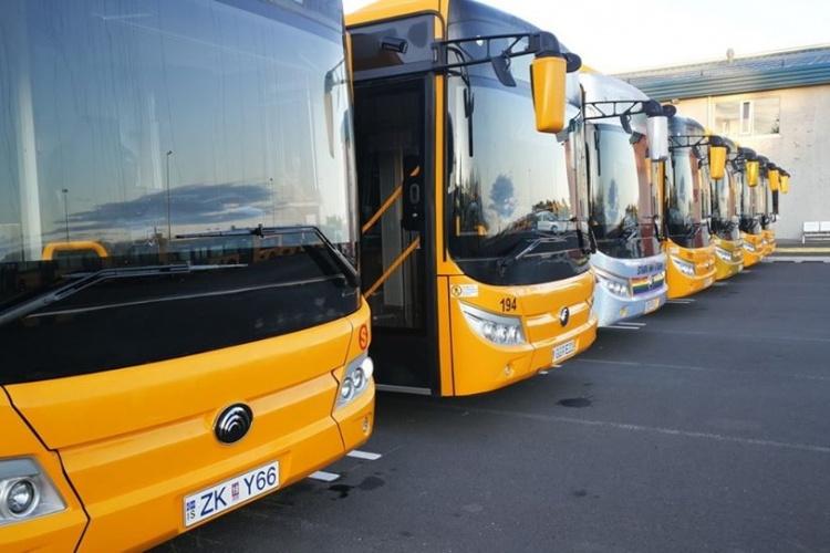 Автобусы в Исландии