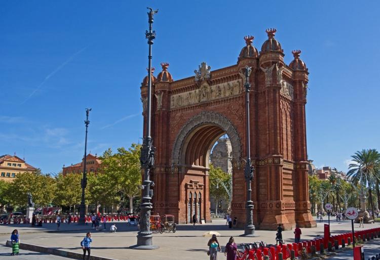 Барселона, Триумфальная арка