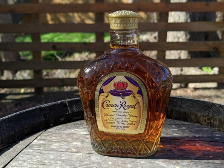 Канадский виски Crown Royal