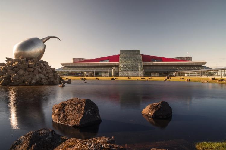 Аэропорт Кефлавик в Исландии