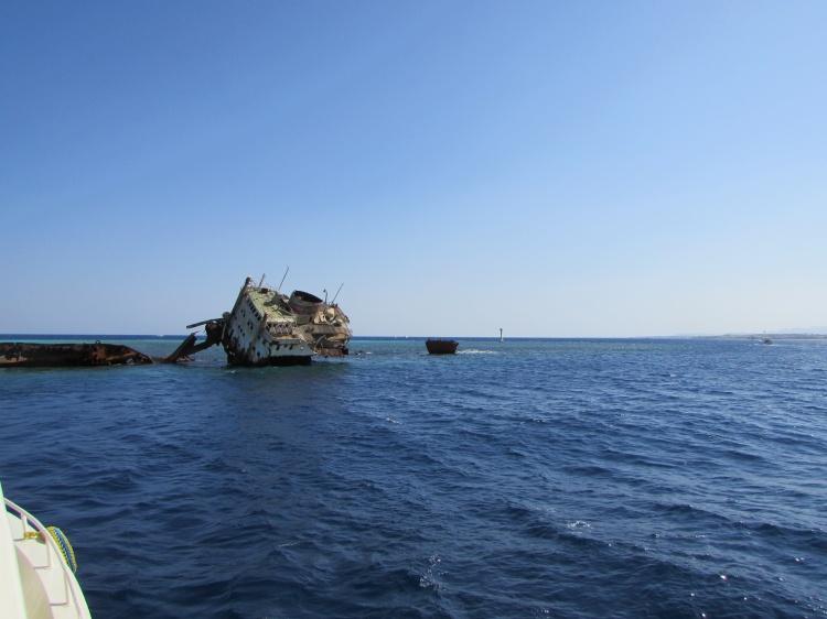 Затонувший корабль, Шарм-эль-Шейх