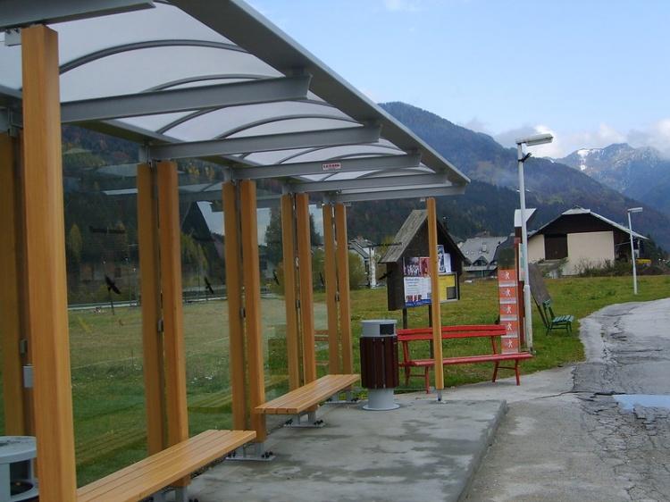 Краньска Гора, как добраться, автобусная остановка