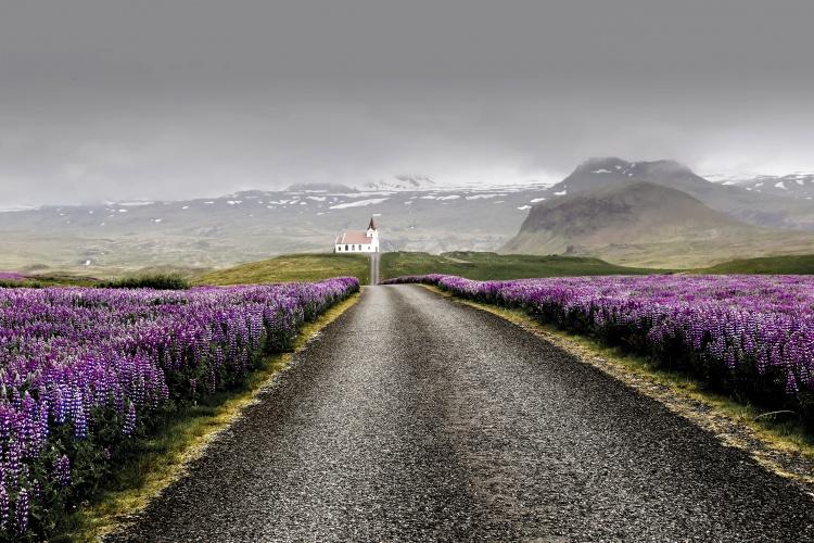 Погода в Исландии весной