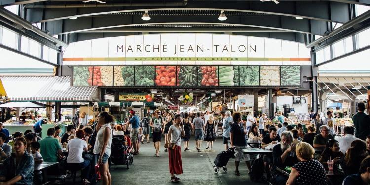 Рынок Jean Talon Market в Монреале