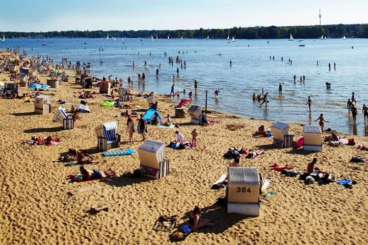 Пляжи в Германиии