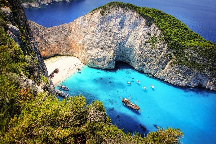 Пляж Закинф, Греция
