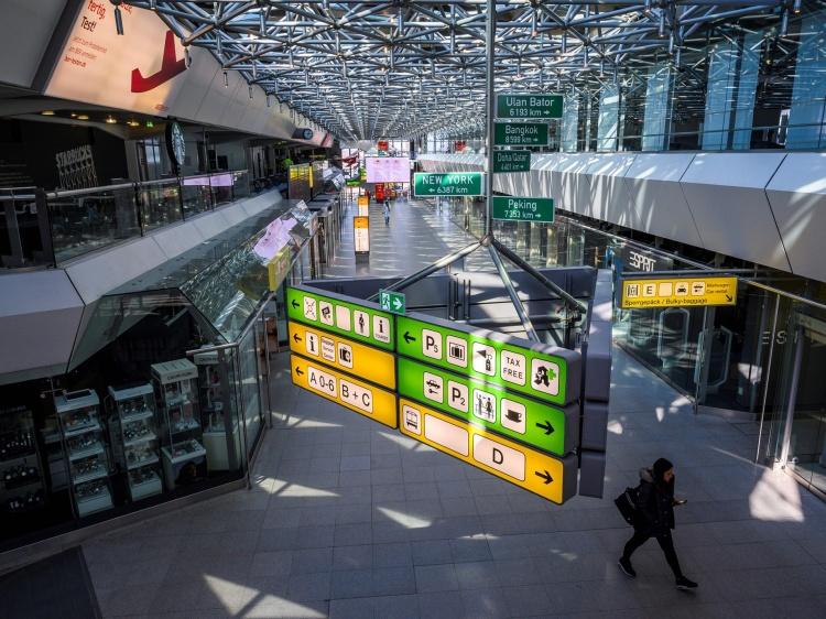 Сервисы в аэропорту Тегель