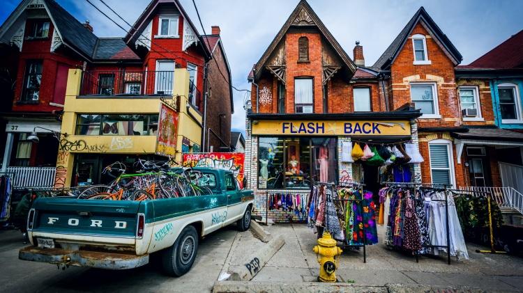 Рынок Кенсингтон в Торонто