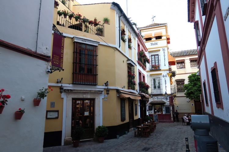 Район Санта-Крус в Севилье