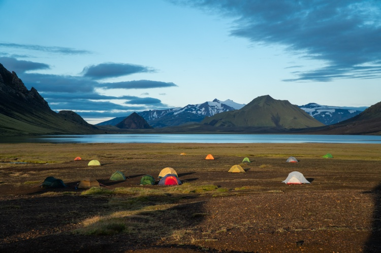 Где остановиться с палаткой в Исландии