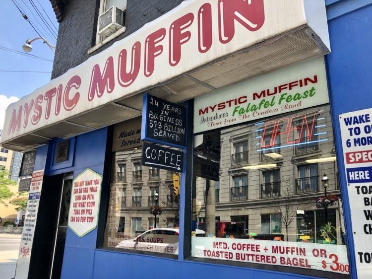 Mystic Muffin в Торонто