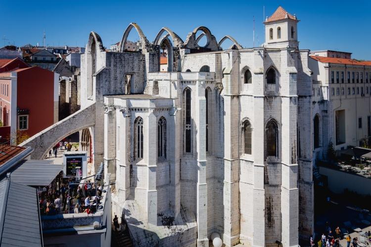 Кармелитский монастырь, Лиссабон, достопримечательности