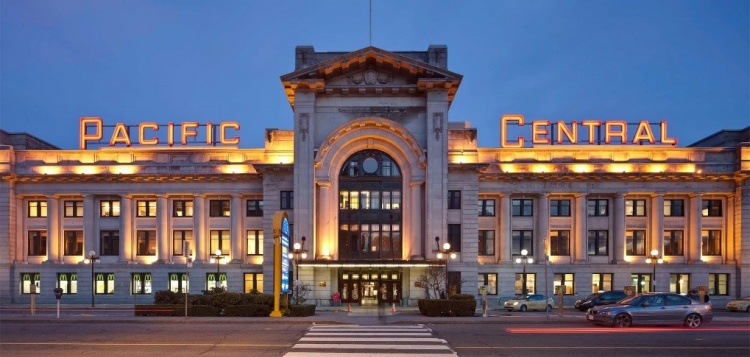 Pacific Central Station Канада