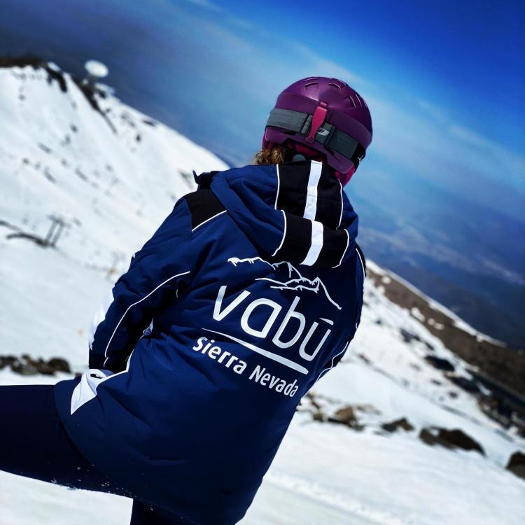 Vabu школа сноубордистов в Сьерра Неваде