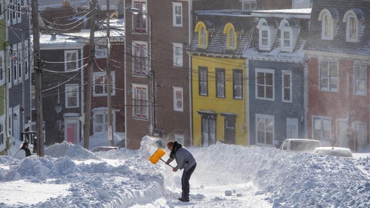 Снежные заметы в Канады