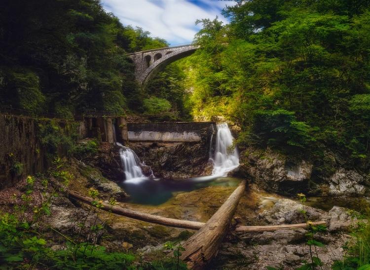 Ущелье Винтгар и мост, фото