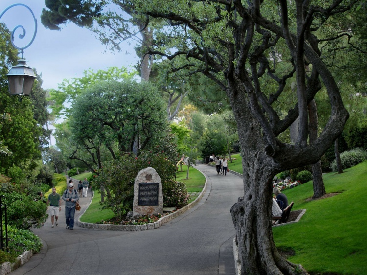 Сады Святого Мартина, Монако