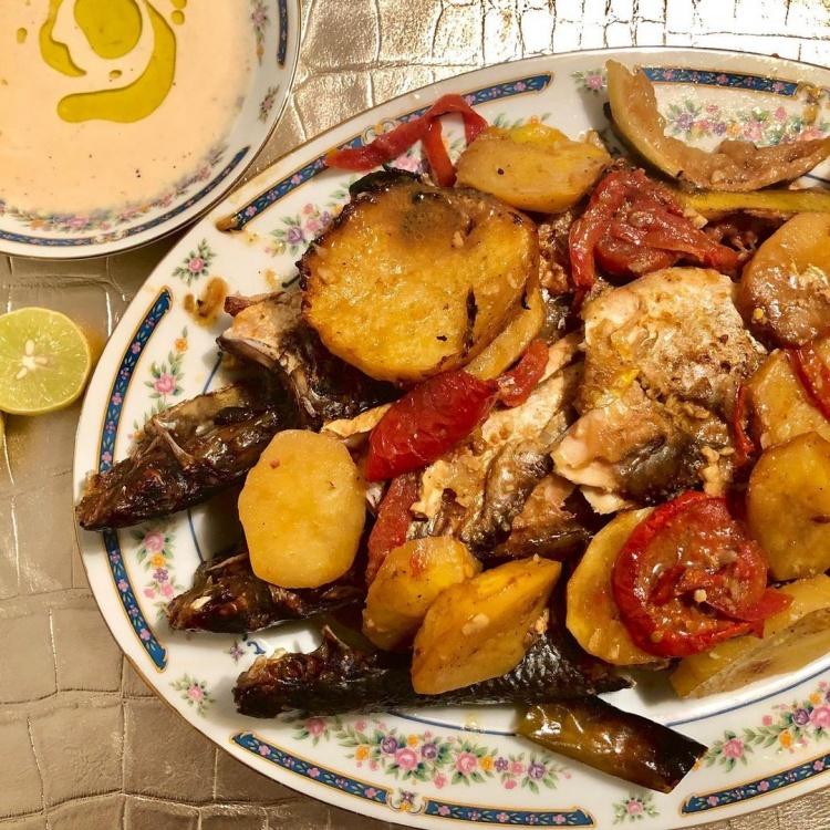 Блюда из рыбы, Египет