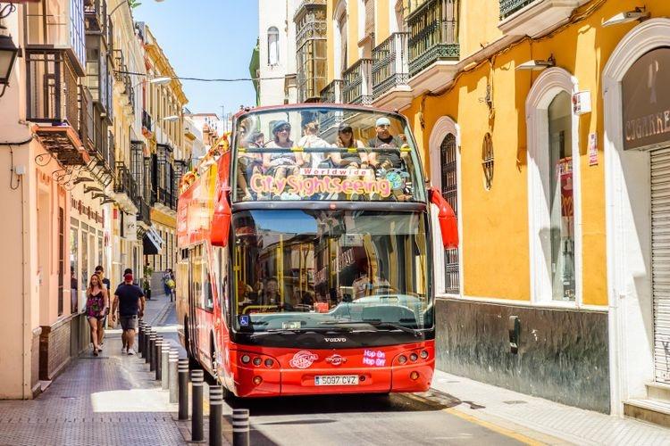 Автобус в Севилье
