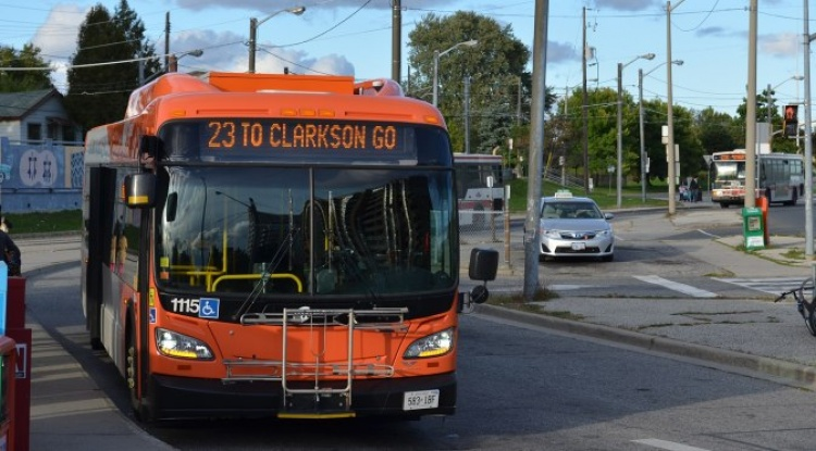 MiWay Mississauga автобус в Торонто