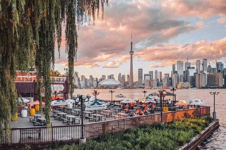 Погода летом в Торонто