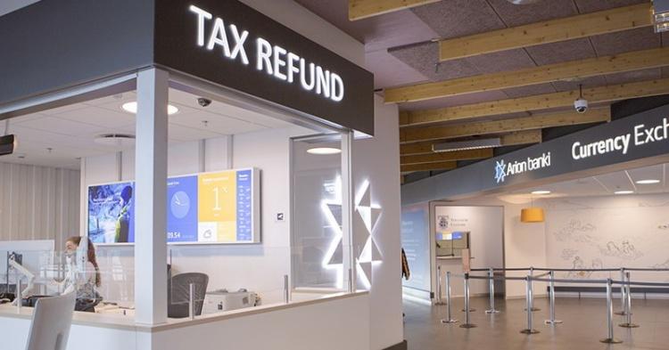 Tax Free в аэропорту Кефлавик