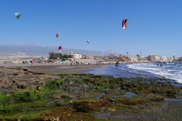 Пляж Плайя де Леокадио Мачадо, Тенерифе