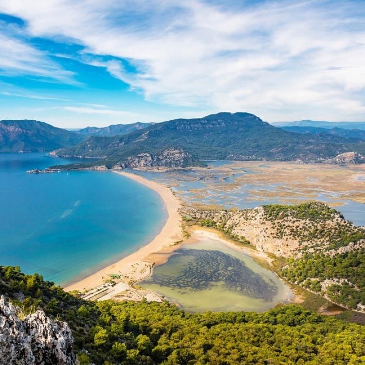 Пляж Изтузу, Турция