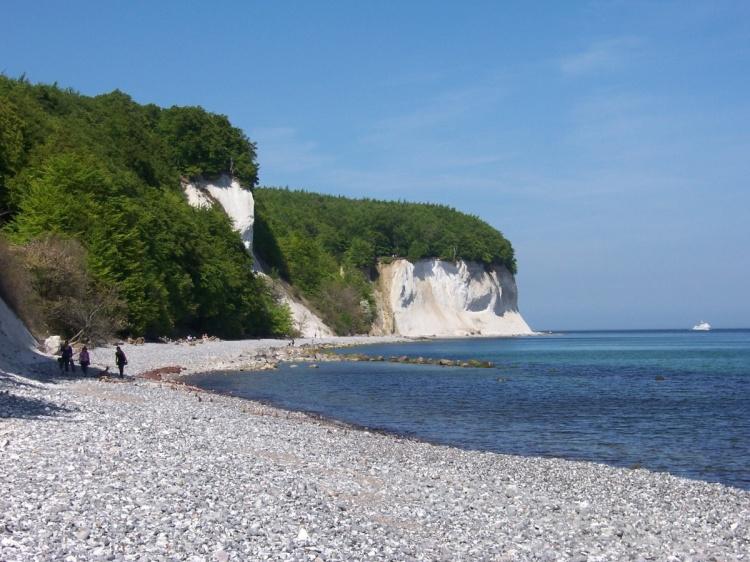 Пляж на острове Рюген