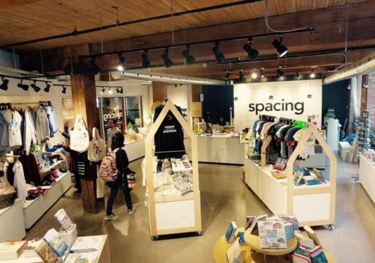 Spacing Store в Торонто