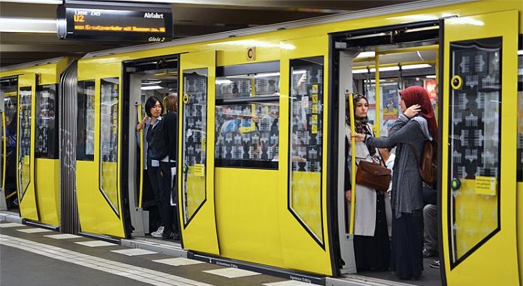U-Bahn метрополитен в Германии