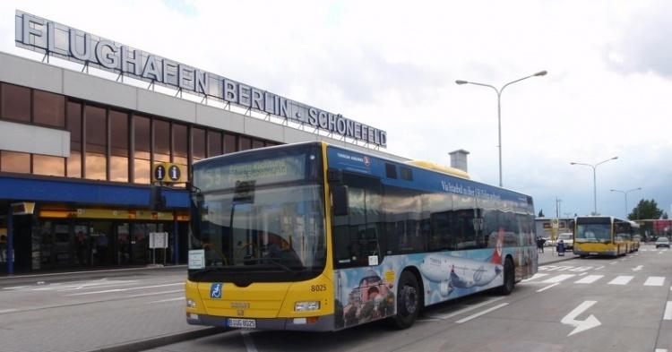 Автобус до Берлин-Шёнефельда