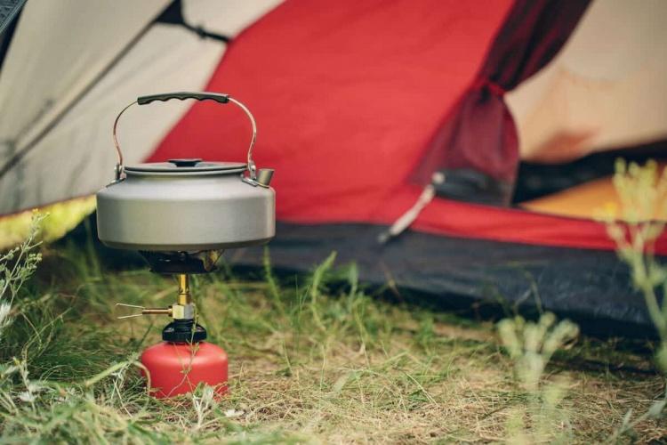 Газовая горелка для готовки в кемпинге