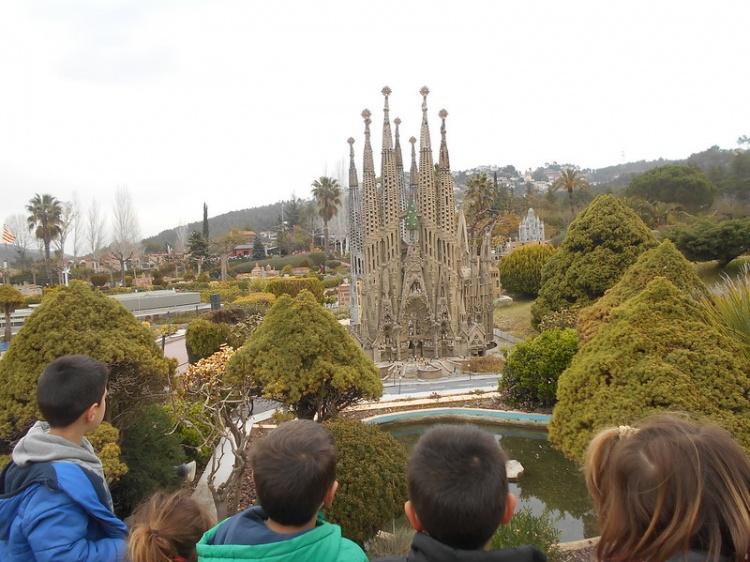 Парк миниатюр, Барселона