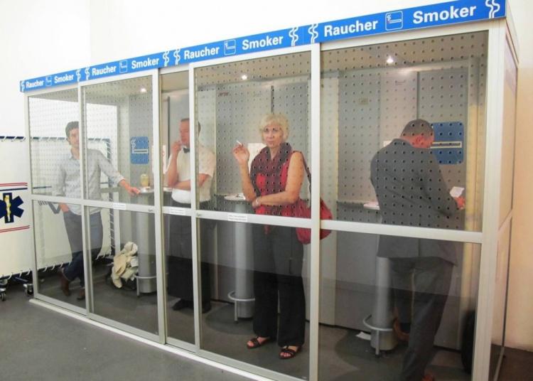 Кабинки для курения в Германии