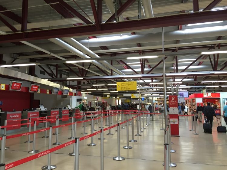 Аэропорт Тегель в Германии