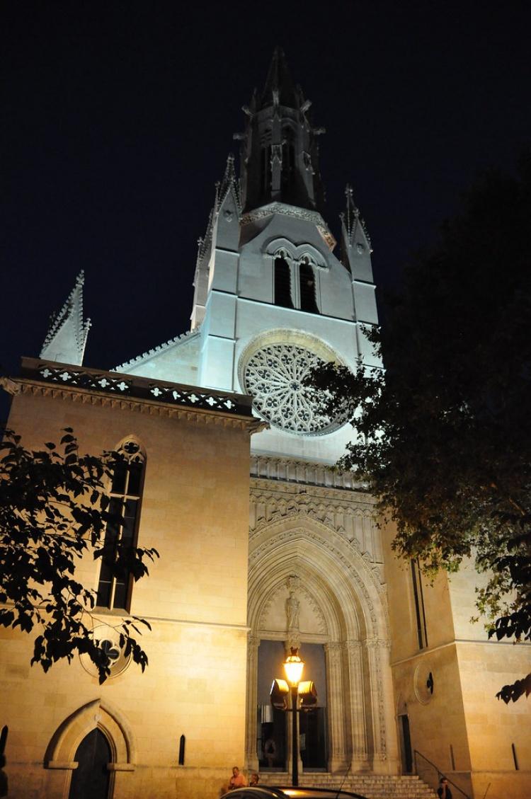Собор Святой Евлалии, вечером