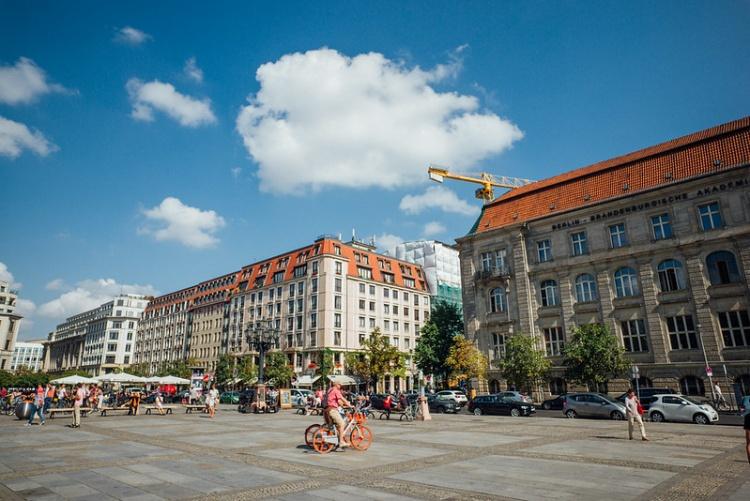 Городская жизнь в Берлине