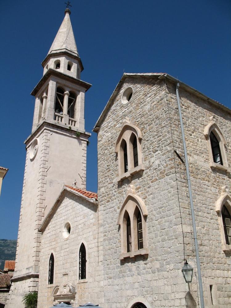 Собор Святого Иоанна Крестителя, Будва, Старый Город