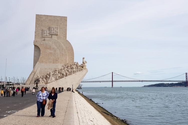 Памятник первооткрывателям в Лиссабоне, фото