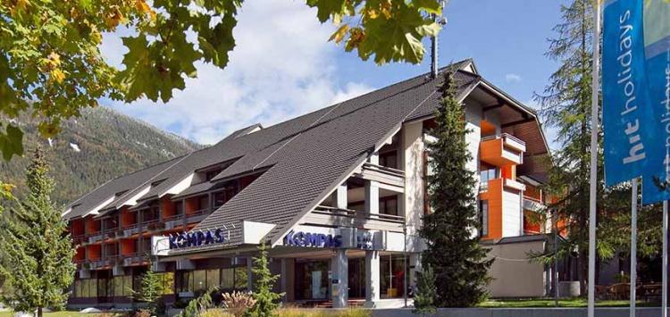 Отель Hotel Kompas в Краньска Гора