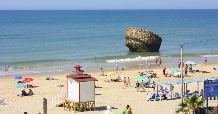 Пляжи Испании, пляж Маталасканьяс