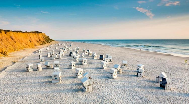 Остров Зильт в Германии пляжи