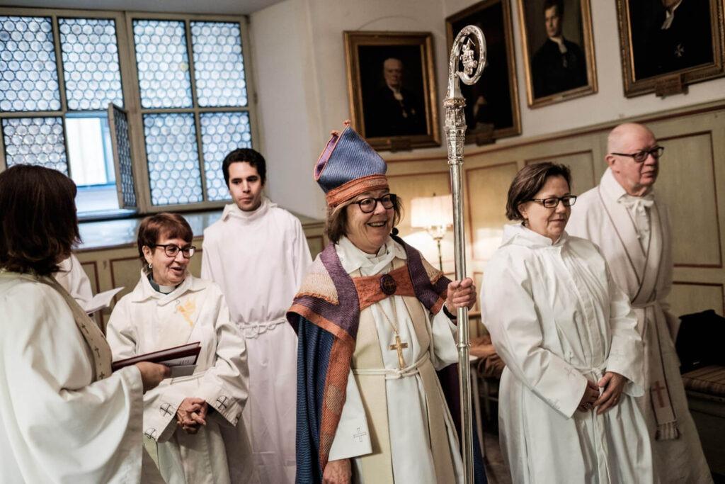 Свадебные традиции Дании - священники Дании