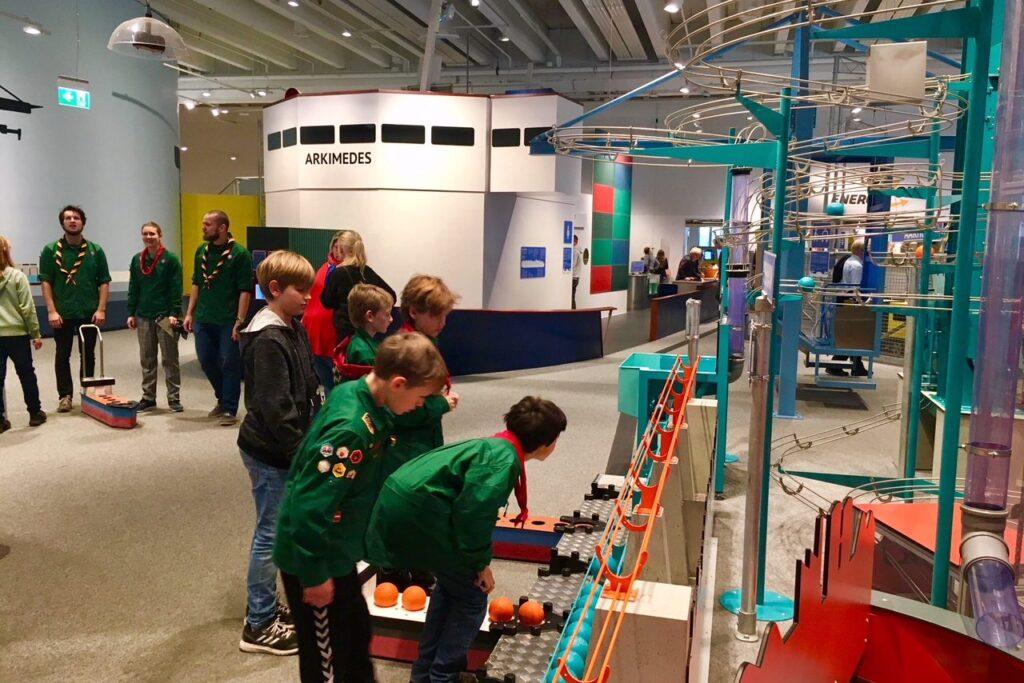 Что посмотреть в Копенгагене с детьми - музей Экспериментариум