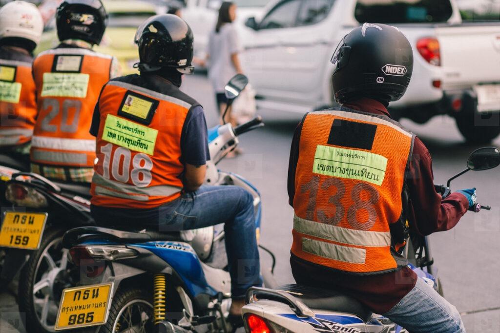 Мото-таксисты Пхукет