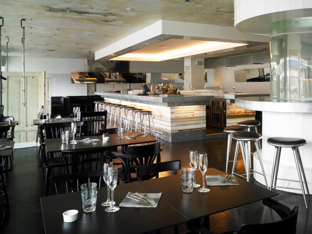 Ресторан морепродуктов Kødbyens в Копенгагене